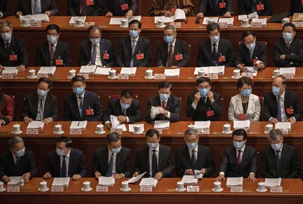 הפרלמנט הסיני, צילום: גטי