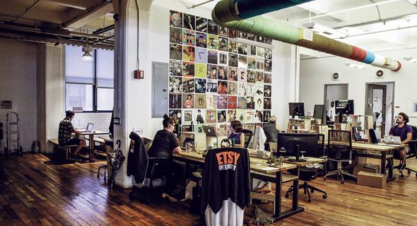 משרדי אטסי בברוקלין ב־2015