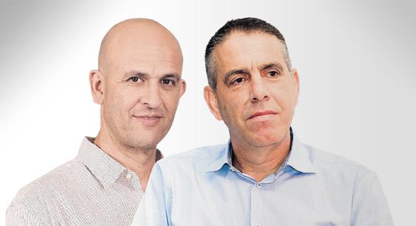 """מנכ""""ל תנובה אייל מליס ומנכ""""ל שטראוס ישראל אייל דרור. הציבור התחיל לצמצם צריכת סוכר"""