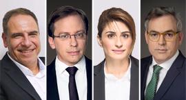 מימין אורי גרינפלד, אילנית שרף, נדב אייל ואמיר גל-אור