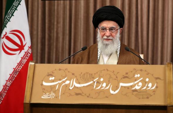 מנהיג איראן עלי חמינאי
