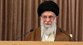 מנהיג איראן אייטולה עלי חמינאי מאי 2020, צילום: רויטרס