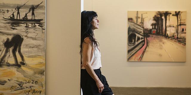 """האמנית אולגה קונדינה: """"אני פילטר של ת""""א"""""""