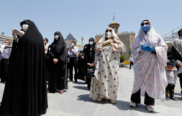 איראן בקורונה