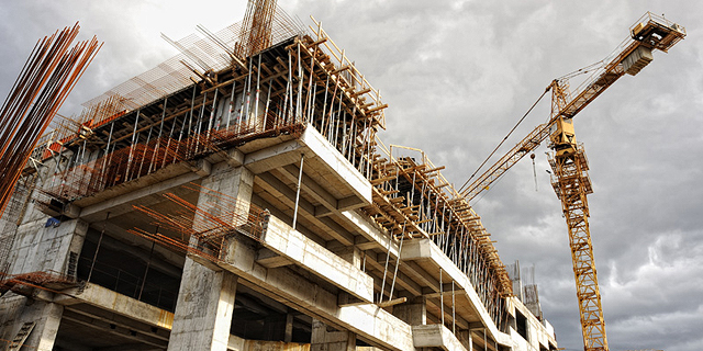 אתר בניה נדלן מנוף זירת הנדלן, צילום: שאטרסטוק