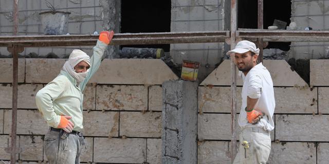 פועלי בניין  פועלי בנייה, צילום: אוראל כהן