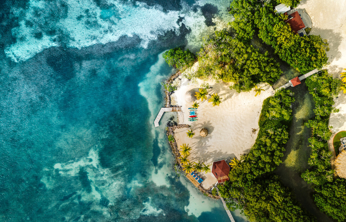 פוטו איים פרטיים לבידוד עצמי בליז מוינו ריזורט