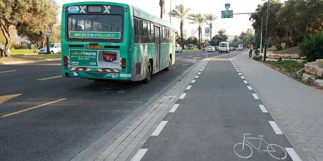 """עיריית ת""""א תכפיל בתוך 5 שנים את היקף שבילי האופניים לכ-300 ק""""מ"""