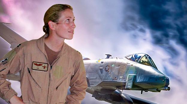 הקברניט A10 מטוס תקיפה טייסת 1, מקור:  USAF