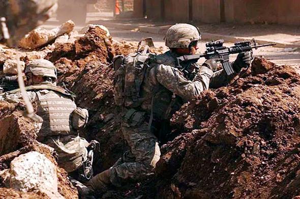 """חיילי ארה""""ב נלחמים בעיראק, מקור: US ARMY"""