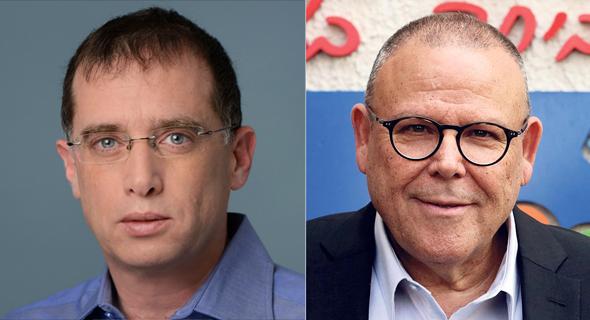 """יו""""ר ההסתדרות ארנון בר דוד ורן גוראון מנכ״ל פלאפון"""