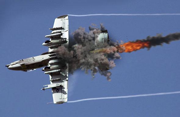 פגיעה ב-A10 (אילוסטרציה), צילום: USAF