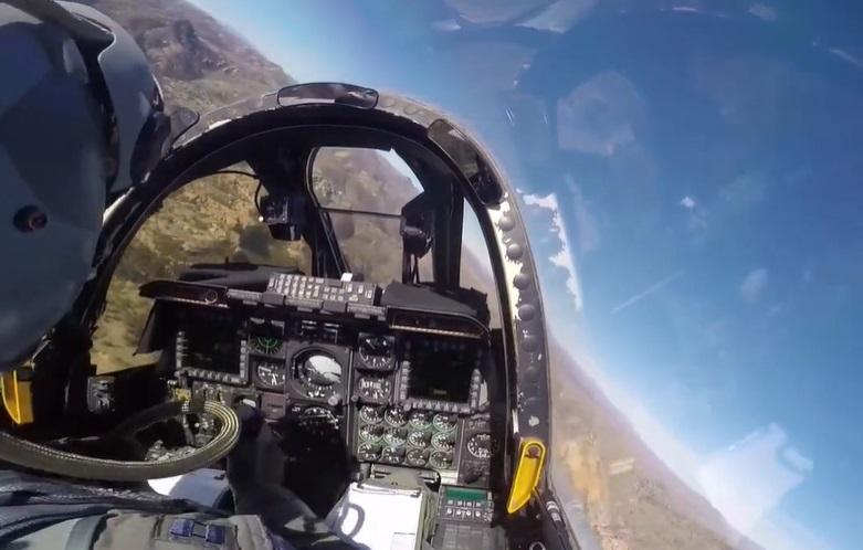 שליטה חלקית בלבד. קוקפיט A10, צילום: USAF