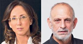 """מנכ""""ל רשות החדשנות אהרון אהרון ומנכ""""לית IATI קארין מאיר רובינשטיין, צילומים: אוראל כהן, סיוון פרג'"""