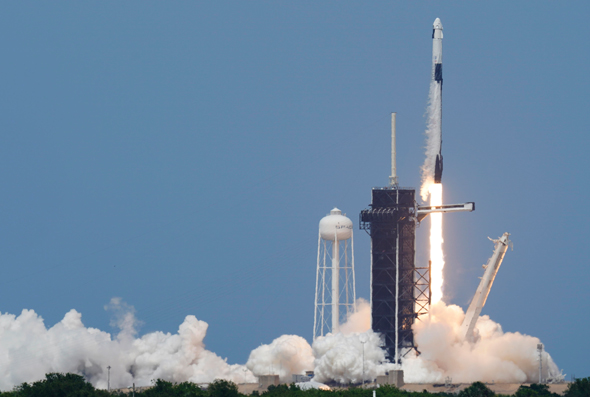 SpaceX is leading the commercialization of space. Photo: AP