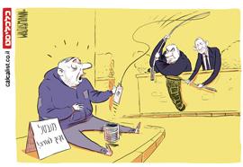 קריקטורה 1.6.20, איור: יונתן וקסמן
