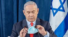 ראש הממשלה בנימין נתניהו 31.5.20, צילום: אמיל סלמן/הארץ