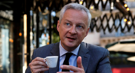 שר האוצר של צרפת ברונו לה מר Bruno Le Maire פתיחת מסעדות יוני 2020 קורונה, צילום: רויטרס