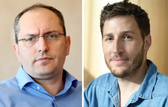 מימין רון רוטר ו מוטי בן משה, צילום: עמית שעל, יונתן בלום