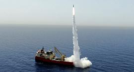 The LORA missile system. Photo: IAI