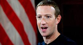 """מארק צוקרברג, מנכ""""ל פייסבוק, צילום: איי אף פי"""