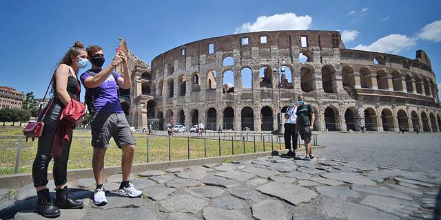אחרי שלושה חודשים: איטליה פותחת את שעריה למבקרים מאירופה