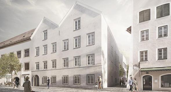 הדמיית הבניין המשופץ