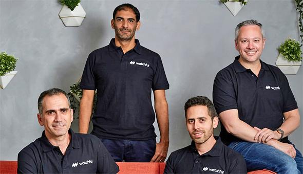 Watchful's management team. Photo: PR