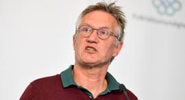 האפידמיולוג הראשי של שבדיה, אנדרס טגנל, צילום: רויטרס