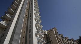 מרפסות מרפסת בניין ב פרוייקט הולילנד ב ירושלים, צילום: אלכס קולומויסקי