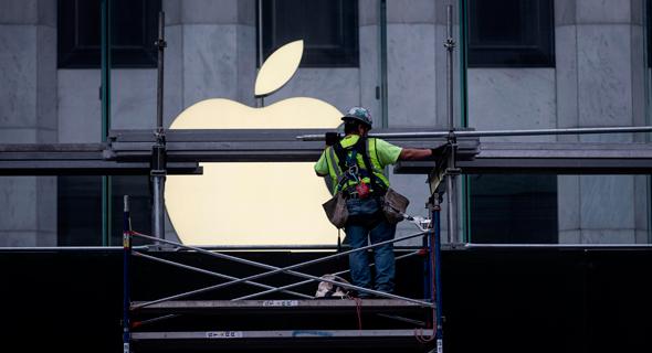ממגנים את חנות אפל בשל המהומות בניו יורק