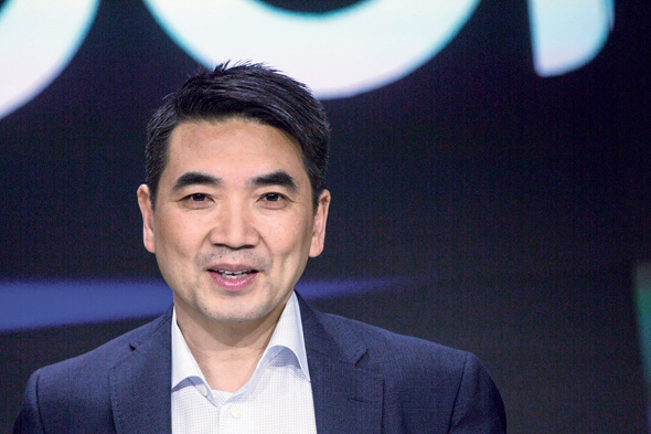 Zoom founder and CEO Eric Yuan. Photo: Bloomberg