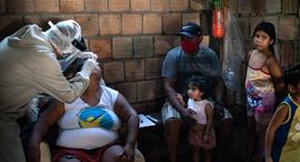 הקורונה בברזיל, צילום: AP