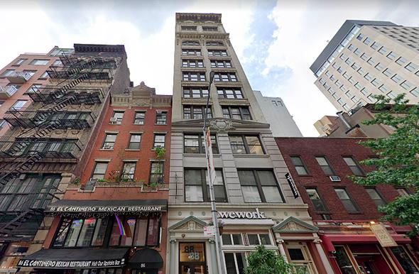 בניין ווי וורק ב ניו יורק יבם עוזבת wework IBM, צילום: Google Maps