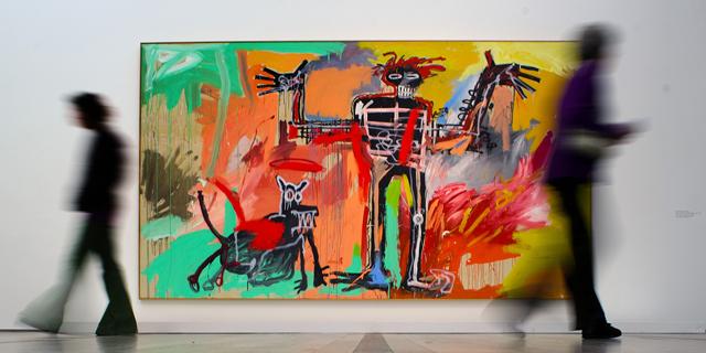 ציור של אמן הגרפיטי בסקיה נמכר ביותר מ-100 מיליון דולר