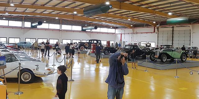 איתן ורטהיימר יתרום את האוסף: מוזיאון הרכב הגדול בישראל סוגר את שעריו
