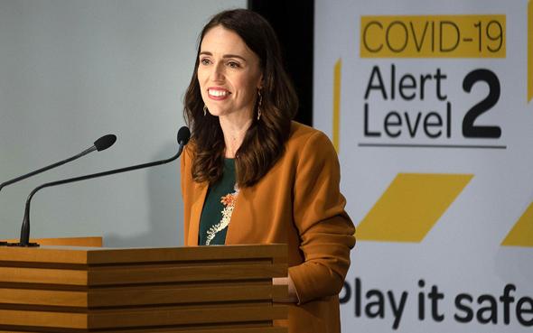 ראשת ממשלת ניו זילנד ג'סינדה ארדרן