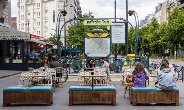 בית קפה בפריז, השבוע