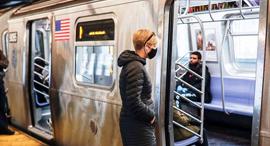 הרכבת התחתית בניו יורק, צילום: AP