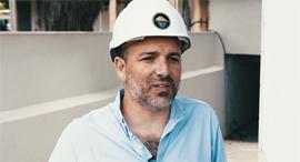 """ניר נווה מנכ""""ל ובעלים נווה בגדדי חברה לבנייה, צילום: אוראל כהן"""