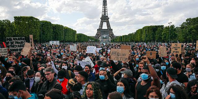 נגד אפליה וגזענות: תמונות מהפגנות ברחבי העולם