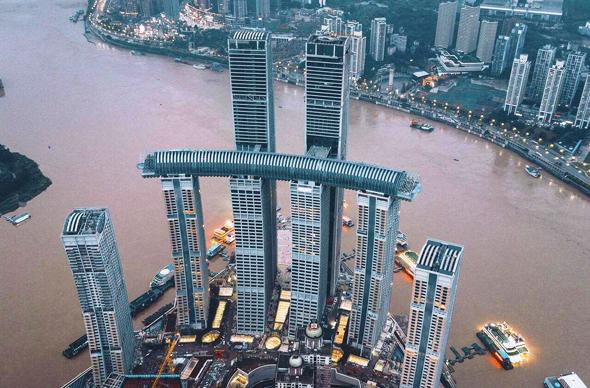 ראפלס סיטי עיר צ'ונגצ'ינג מגדל מאוזן קריסטל משה ספדיה , צילום: Capital Land