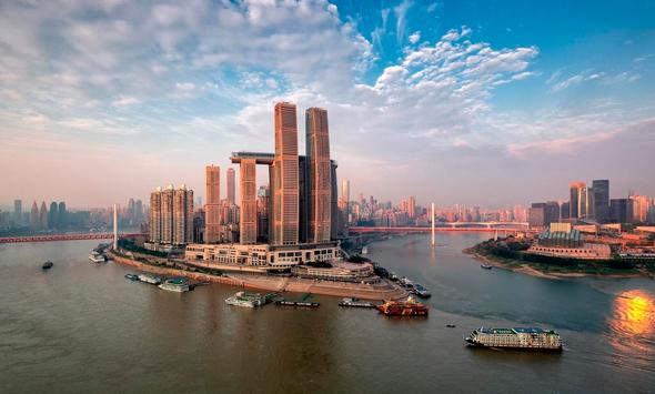 ראפלס סיטי עיר צ'ונגצ'ינג מגדל מאוזן קריסטל משה ספדיה  4, צילום: Capital Land