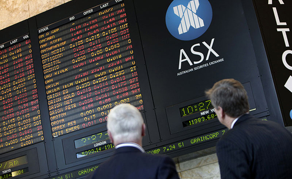 ASX. Photo: Bloomberg