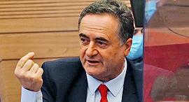 שר האוצר ישראל כץ אתמול בוועדת הכספים, צילום: עדינה ולמן, דוברות הכנסת