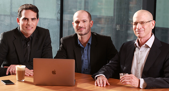 Planck co-founders Elad Tsur (from left), Amir Cohen, and David Schapiro. Photo: Courtesy