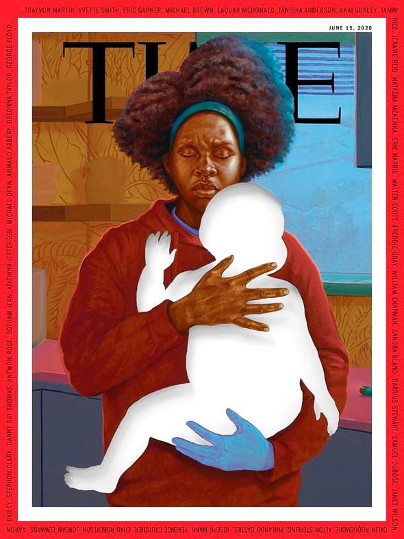 מחווה לאימהות השחורות, צילום: מגזין time
