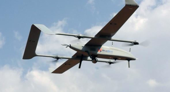 A Bluebird UAV. Photo: Bluebird
