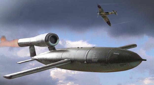הקברניט V1 נאצים טיל שיוט טילים, צילום: (Vedi informazioni sull'autore  (CC BY-SA 3.0