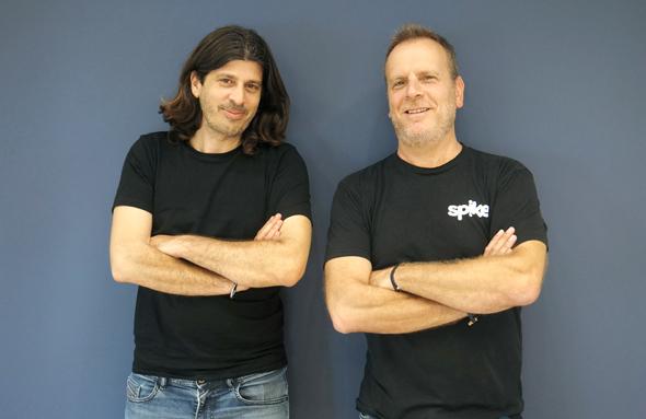 Spike co-founder Dvir Ben-Aroya and Erez Pilosof. Photo: Spike